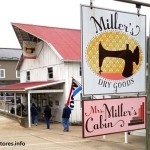 Miller's Dry Goods is located in Charm, Ohio Amish Country.