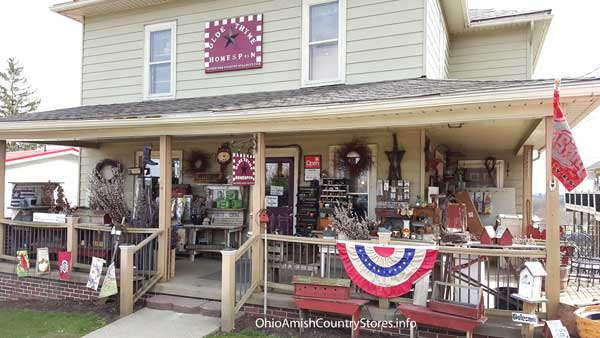 The Olde Thyme Homespun Shoppe Ohio Amish Country Stores