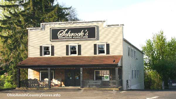 Schrocks heritage furniture ohio amish country stores Berlin furniture stores