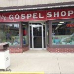The Gospel Shop is located in Sugarcreek, Ohio.